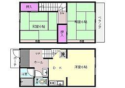 [テラスハウス] 神奈川県横浜市栄区長沼町 の賃貸【/】の間取り