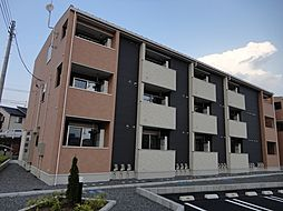 栃木県宇都宮市八千代1丁目の賃貸アパートの外観