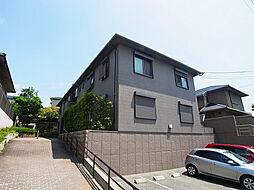 兵庫県神戸市垂水区山手1丁目の賃貸アパートの外観