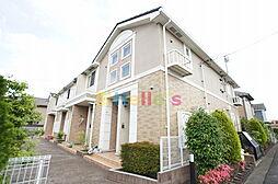東京都青梅市今寺4丁目の賃貸アパートの外観
