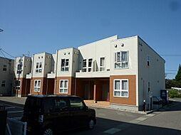 新潟県燕市八王寺の賃貸アパートの外観