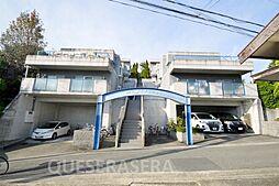 大阪府箕面市粟生外院5丁目の賃貸マンションの外観