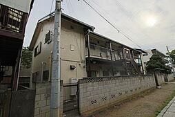 千葉県市川市真間4丁目の賃貸アパートの外観