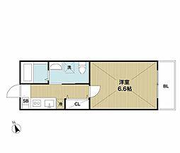 La vita竹ノ塚(ラヴィータタケノヅカ)[2階]の間取り
