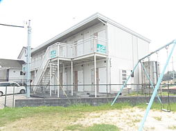 滋賀県湖南市若竹町の賃貸アパートの外観