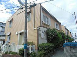 大阪府豊中市曽根南町2丁目の賃貸アパートの外観