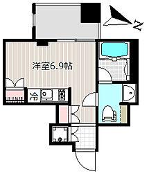アパートメンツ銀座東[2階]の間取り
