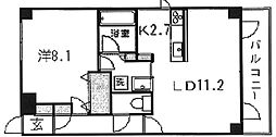 ハーベストヒルズ溝の口I[6階]の間取り