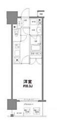コンフォリア新宿御苑I[12階]の間取り