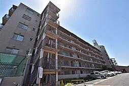 大阪府羽曳野市高鷲4丁目の賃貸マンションの外観
