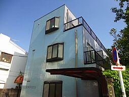 神奈川県横浜市港北区下田町3丁目の賃貸マンションの外観
