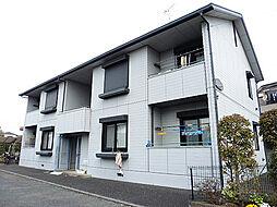 東京都東大和市芋窪4丁目の賃貸アパートの外観