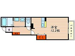 ブリアンヌーボ[1階]の間取り