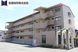 愛知県豊橋市下地町字神田の賃貸マンションの外観