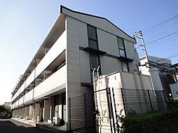 埼玉県草加市草加3の賃貸アパートの外観