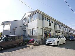 神奈川県座間市東原3丁目の賃貸アパートの外観
