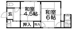 [一戸建] 大阪府枚方市養父元町 の賃貸【大阪府 / 枚方市】の間取り