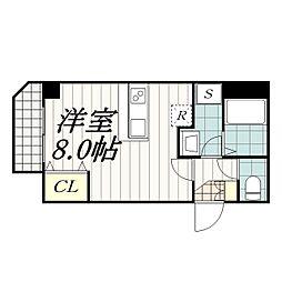 IBIS(アイビス)[2階]の間取り
