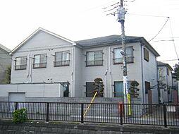 東京都中野区白鷺3丁目の賃貸アパートの外観