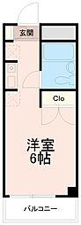 クレスト多摩川[3階]の間取り