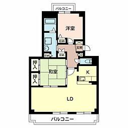Le Stanze[2階]の間取り