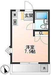 メゾン小島II[1階]の間取り