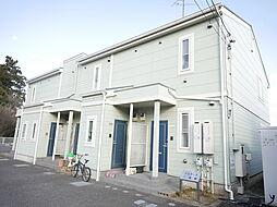 神奈川県大和市上草柳の賃貸アパートの外観