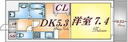 MUMOMI上沢(ムモミ上沢)[2階]の間取り