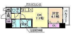 ドゥーエ立売堀[8階]の間取り