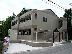 愛知県岡崎市大平町字天神前の賃貸アパートの外観