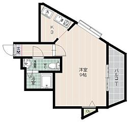 日興ビルIII[2階]の間取り