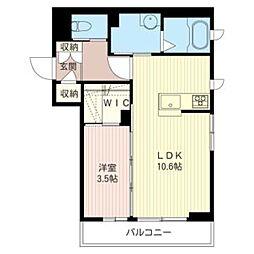 felvere.u[3階]の間取り
