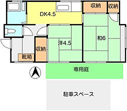 [一戸建] 東京都東村山市恩多町1丁目 の賃貸【/】の間取り