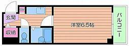都島ル・グラン[4階]の間取り