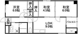 RITTO弐番館[4階]の間取り