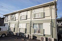 栃木県宇都宮市清住1丁目の賃貸アパートの外観