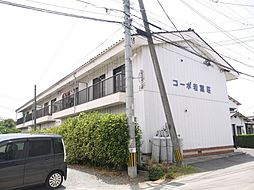 コーポ若葉荘[201号室]の外観
