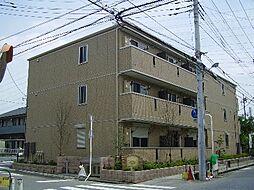 埼玉県八潮市中央4の賃貸アパートの外観