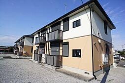 栃木県下野市下石橋の賃貸アパートの外観