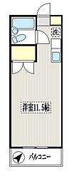 東芳ビル[2階]の間取り