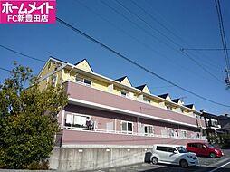 愛知県みよし市黒笹いずみ3の賃貸アパートの外観