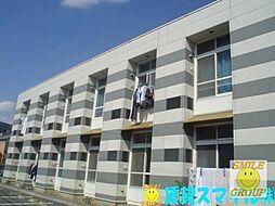 千葉県市川市北国分4丁目の賃貸アパートの外観
