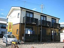 静岡県藤枝市前島2丁目の賃貸アパートの外観