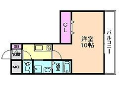 ハイムラポール16[1階]の間取り