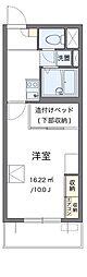 東急田園都市線 梶が谷駅 徒歩5分の賃貸マンション 4階1Kの間取り