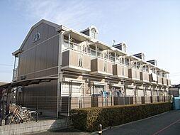 大阪府豊中市原田元町2丁目の賃貸アパートの外観