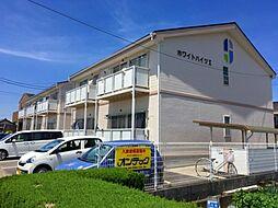 岐阜県各務原市蘇原野口町1丁目の賃貸アパートの外観