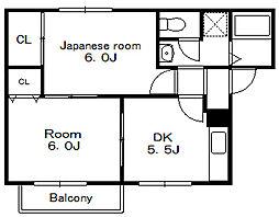 つぐみハウス[1階]の間取り