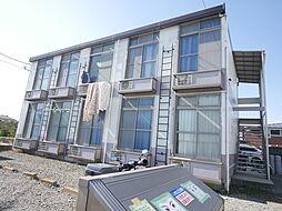 神奈川県海老名市中新田4の賃貸アパートの外観