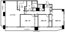 フロムファースト139[5階]の間取り